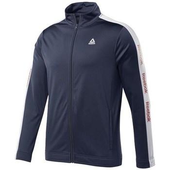 textil Herr Sweatshirts Reebok Sport Training Essentials Linear Logo Track Grenade