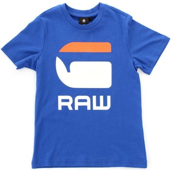 textil Barn T-shirts Gstar Raw SP10016 Blue
