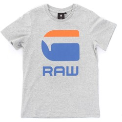 textil Barn T-shirts Gstar Raw SP10016 Grey