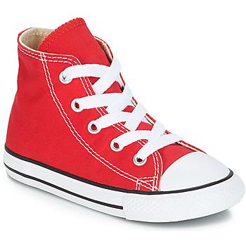 Skor Barn Höga sneakers Converse CHUCK TAYLOR ALL STAR CORE HI Röd