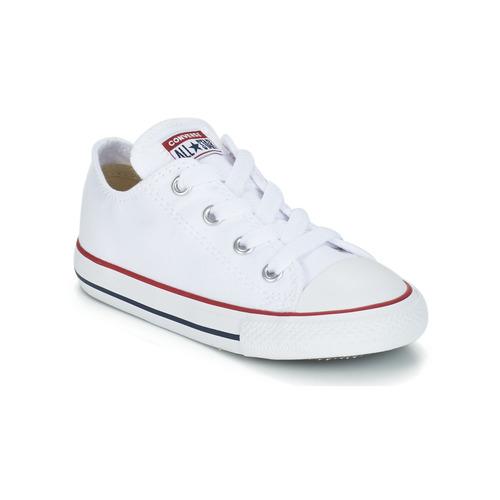 Skor Barn Sneakers Converse CHUCK TAYLOR ALL STAR CORE OX Vit