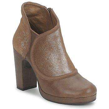 Skor Dam Boots Esska TILLY Brun / Paljett