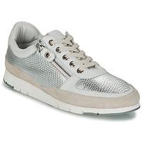 Skor Dam Sneakers TBS CAVANNA Silverfärgad / Beige