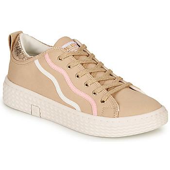 Skor Dam Sneakers Palladium TEMPO 02 CVS Beige