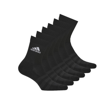 Accessoarer Sportstrumpor adidas Performance CUSH CRW 6PP Svart