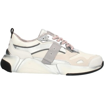 Skor Dam Sneakers Blauer 9FMONROE01 White and silver