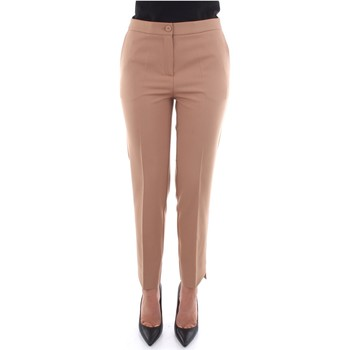 textil Dam Chinos / Carrot jeans Beatrice B 19FA1026P165 Beige