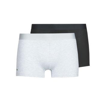 Underkläder  Herr Boxershorts Lacoste 5H3378-SNP Svart / Grå / Melerad