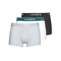 Underkläder  Herr Boxershorts Lacoste 5H3389-NUA Svart / Vit / Grå