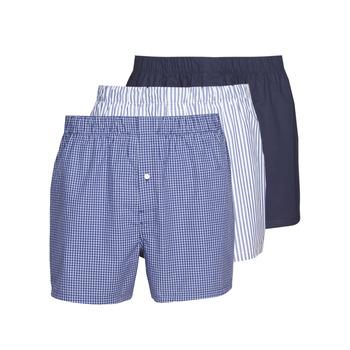 Underkläder  Herr Boxershorts Lacoste 7H3394-8X0 Vit / Blå