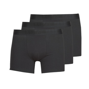 Underkläder  Herr Boxershorts Levi's PRENIUM BRIEF PACK X3 Svart