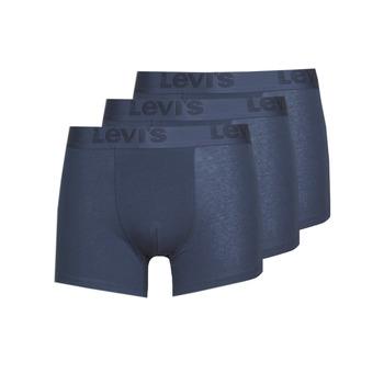 Underkläder  Herr Boxershorts Levi's PRENIUM BRIEF PACK X3 Marin