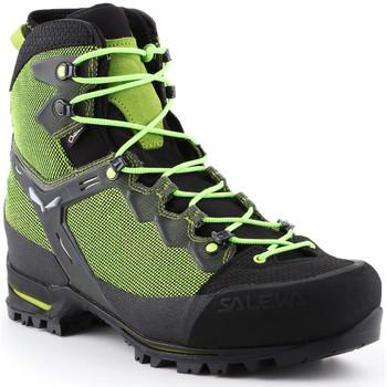 Skor Herr Vandringskängor Salewa Trekking shoes  Ms Raven 3 GTX 361343-0456 green