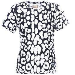 textil Dam T-shirts Eleven Paris BIRINA Svart