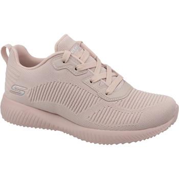 Skor Dam Sneakers Skechers Bobs Squad 32504-PNK