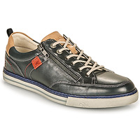 Skor Herr Sneakers Fluchos QUEBEC Marin / Beige / Röd