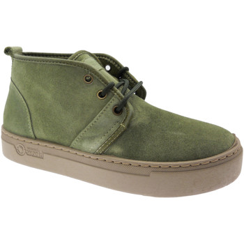 Skor Dam Höga sneakers Natural World NAW6151922ka verde