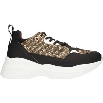 Skor Dam Sneakers Alexander Smith SP73896 Black gold and white