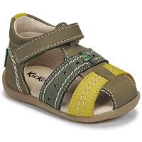 Skor Barn Sandaler Kickers BIGBAZAR-3 Grön