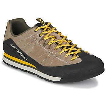 Skor Herr Sneakers Merrell CATALYST SUEDE Beige / Svart