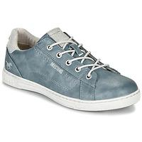 Skor Dam Sneakers Mustang  Blå