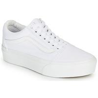 Skor Dam Sneakers Vans OLD SKOOL PLATFORM Vit
