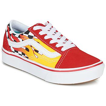 Skor Pojkar Sneakers Vans ComfyCush Old Skool Röd / Gul