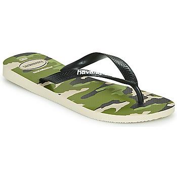 Skor Herr Flip-flops Havaianas TOP CAMU Grön