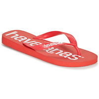 Skor Herr Flip-flops Havaianas TOP LOGOMANIA Röd