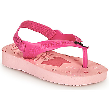 Skor Flickor Flip-flops Havaianas BABY DISNEY CLASSICS II Rosa
