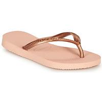 Skor Flickor Flip-flops Havaianas SLIM Rosa