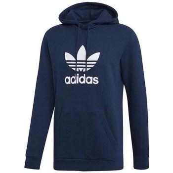 textil Herr Sweatshirts adidas Originals Trefoil Hoodie Grenade