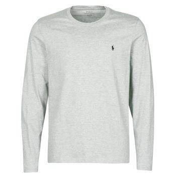 textil Herr T-shirts Polo Ralph Lauren L/S CREW-CREW-SLEEP TOP Grå