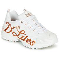 Skor Dam Sneakers Skechers D'LITES Vit