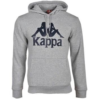 textil Herr Sweatshirts Kappa Taino Hooded Gråa