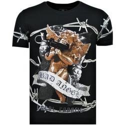 textil Herr T-shirts Local Fanatic Muhammad Ali Stars Zwart Svart
