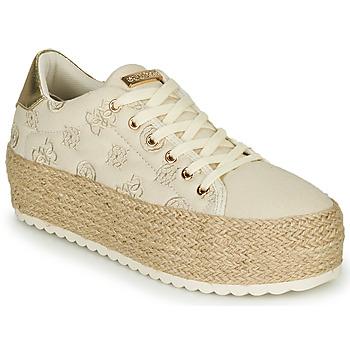Skor Dam Sneakers Guess MARILYN Beige