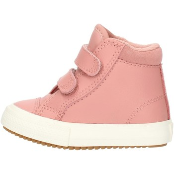 Skor Flickor Höga sneakers Converse 76198 Pink