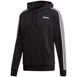 textil Herr Sweatshirts adidas Originals Essentials 3 Stripes PO FZ French Terry Svarta