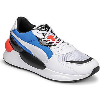 Skor Herr Sneakers Puma RS 9.8 MERMAID Vit / Svart / Blå