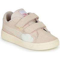 Skor Flickor Sneakers Puma SUEDE Rosa