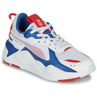 Skor Barn Sneakers Puma RS-X Vit / Blå / Röd