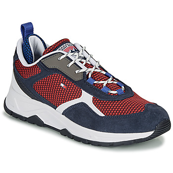 Skor Herr Sneakers Tommy Hilfiger FASHION MIX SNEAKER Blå