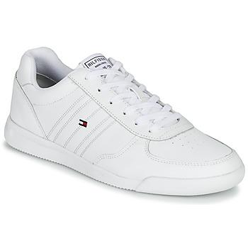 Skor Herr Sneakers Tommy Hilfiger LIGHTWEIGHT LEATHER SNEAKER Vit