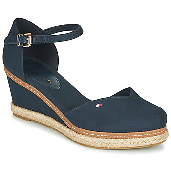 Skor Dam Sandaler Tommy Hilfiger BASIC CLOSED TOE MID WEDGE Blå
