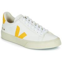 Skor Sneakers Veja CAMPO Vit / Gul