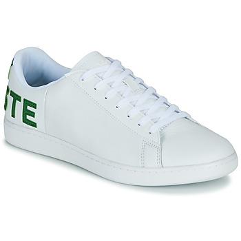 Skor Herr Sneakers Lacoste CARNABY EVO 120 7 US SMA Vit / Grön