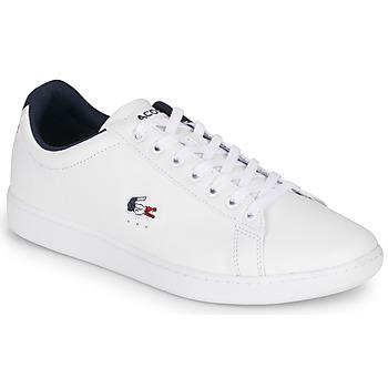 Skor Herr Sneakers Lacoste CARNABY EVO TRI1 SMA Vit