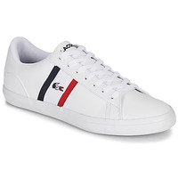 Skor Herr Sneakers Lacoste LEROND TRI1 CMA Vit / Blå / Röd