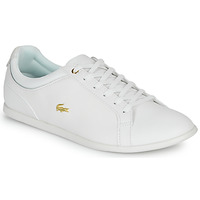 Skor Dam Sneakers Lacoste REY LACE 120 1 CFA Vit / Guldfärgad
